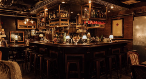There is tons of nightlife fun happening at one of the many speakeasies in the area.